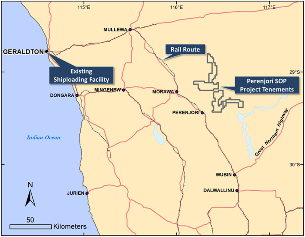 Perenjori Potash Exploration Project
